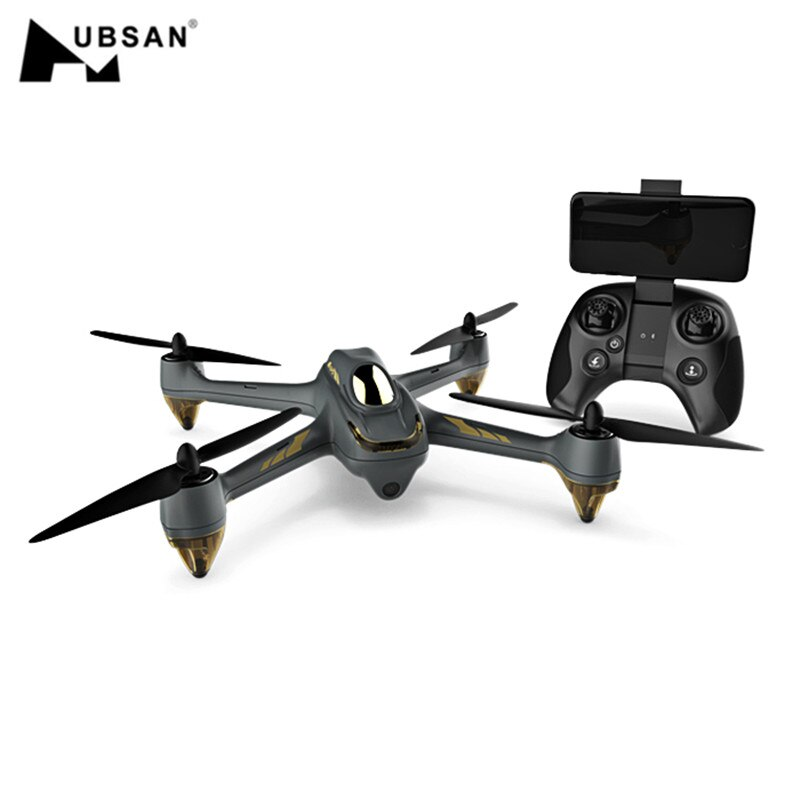 Original Hubsan H501M X4 sin escobillas GPS con HD 720P Cámara Waypoint WiFi FPV Drone RC Drone Quadcopter RTF