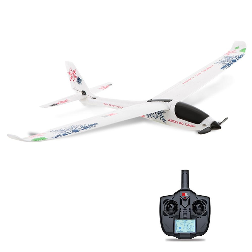 RCtown  RC Airplane Flying Aircraft A800 4CH 780mm 3D6G System RC Glider Toy Airplane Compatible Fut