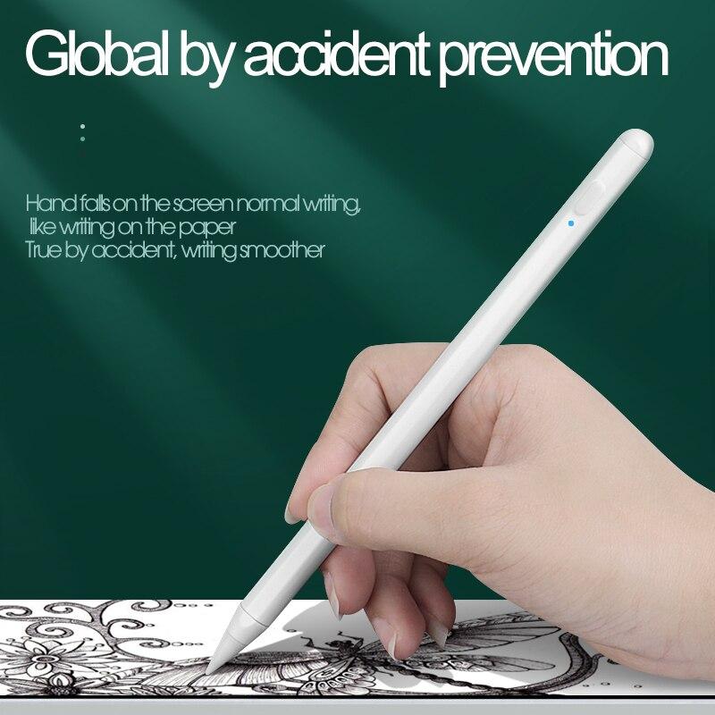 Stylus para Tablets Sensível ao Toque Adequado para Apple Impede a má Caneta Ipad Telefone Móvel Desenho Pencil 2 Atração Magnética Operação