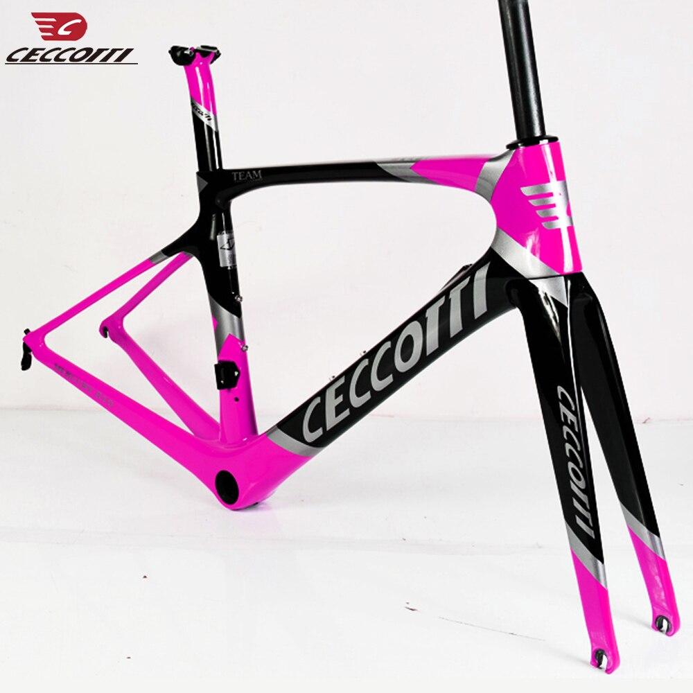 Light Weight Carbon Disc Road Frame  fork 12*100mm or Thru Axle 12*142mm Custom Painting Road Bike Disc Brake