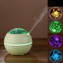 Humidificateur dair aromathérapie à la maison, humidificateur dair de 150ML diffuseur dhuile essentielle avec adaptateur lumière de nuit
