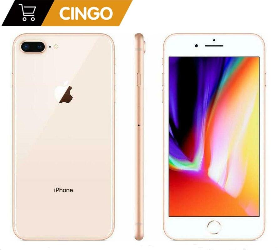 Promo Unlocked Apple iphone 8 plus  RAM 64G/256G ROM 12.0 MP Fingerprint iOS 4G LTE smartphone 1080P 5.5 inch screen iphone8plus