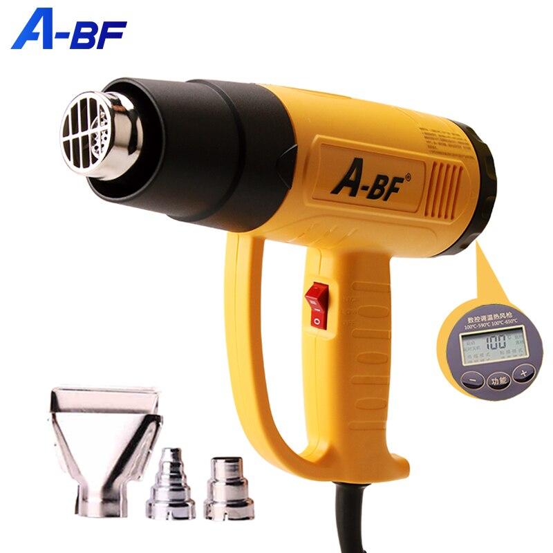 Pistola de aire caliente Industrial de A-BF, pistola de calor eléctrica con...