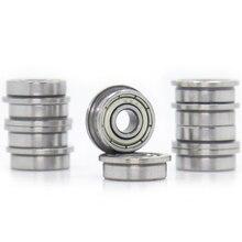 F694ZZ roulement à bride 4x11x4mm ABEC-1 ( 10 pièces) à bride F694 Z ZZ roulements à billes F619/4ZZ