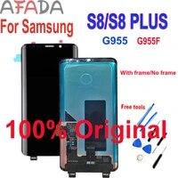 original lcd for samsung s8 plus display g955 g955f lcd screen s8 g955f g955u lcd display digitizer assembly