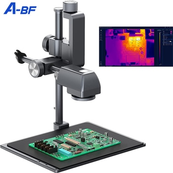A-BF Infrared Thermal Analyzer 260*200 IR Pixels Benchtop PCB Thermal Imaging Camera PCBA Design Repair Inspection PC Software