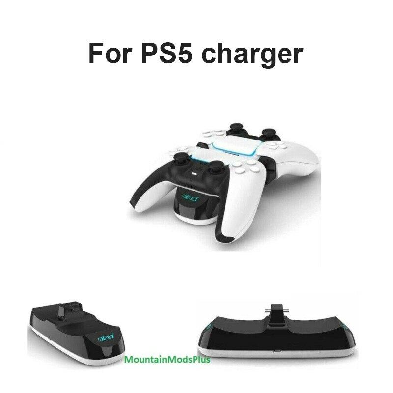 Base de carga para PS5, mando doble para Playstation 5, soporte de...