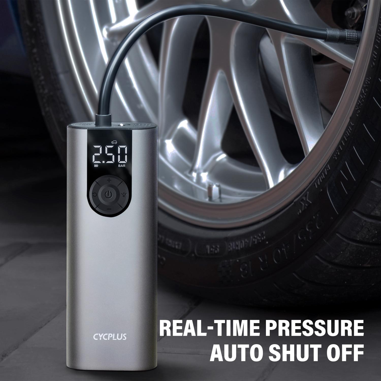 Портативный Автомобильный Компрессор CYCPLUS A8, велосипедный насос для автомобиля, мини воздушный насос высокого давления для велосипеда, мот...
