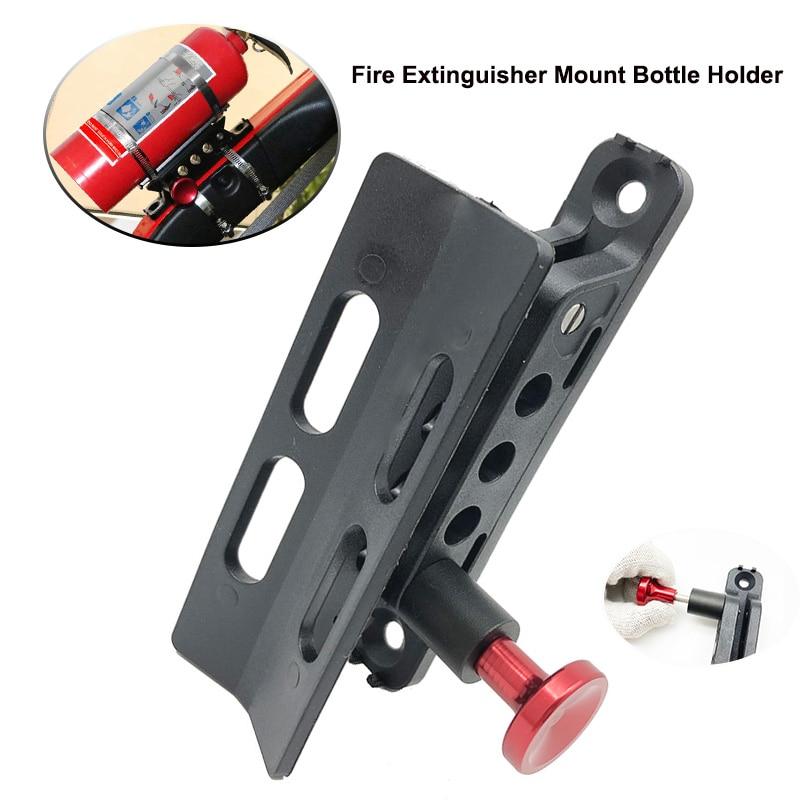 Car Fire extinguisher holder Fits Jeep Wrangler Fire Extinguisher Mount Bottle Holder For Jk Jku Jl Utv Roll Bar