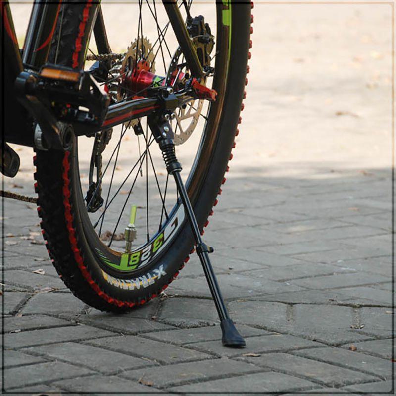 Soporte para estacionamiento de bicicletas soporte para bicicleta de montaña ajustable resistente soporte trasero para 16 20 24 26 700C A