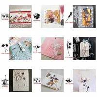 artistic flowers metal cutting dies flowers die cut for card making diy new 2020 crafts cards