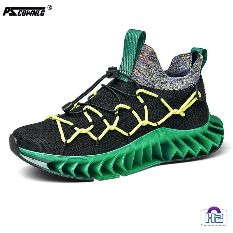 2021Blade Walking Shoes Professional Running Shoes Men Walking Sneakers  Pscownlg Walking Shoes Light Weight Mens Sneakers 2021blade walking shoes running shoes men walking sneakers high quality walking shoes light weight mens sneakers yz580 h2
