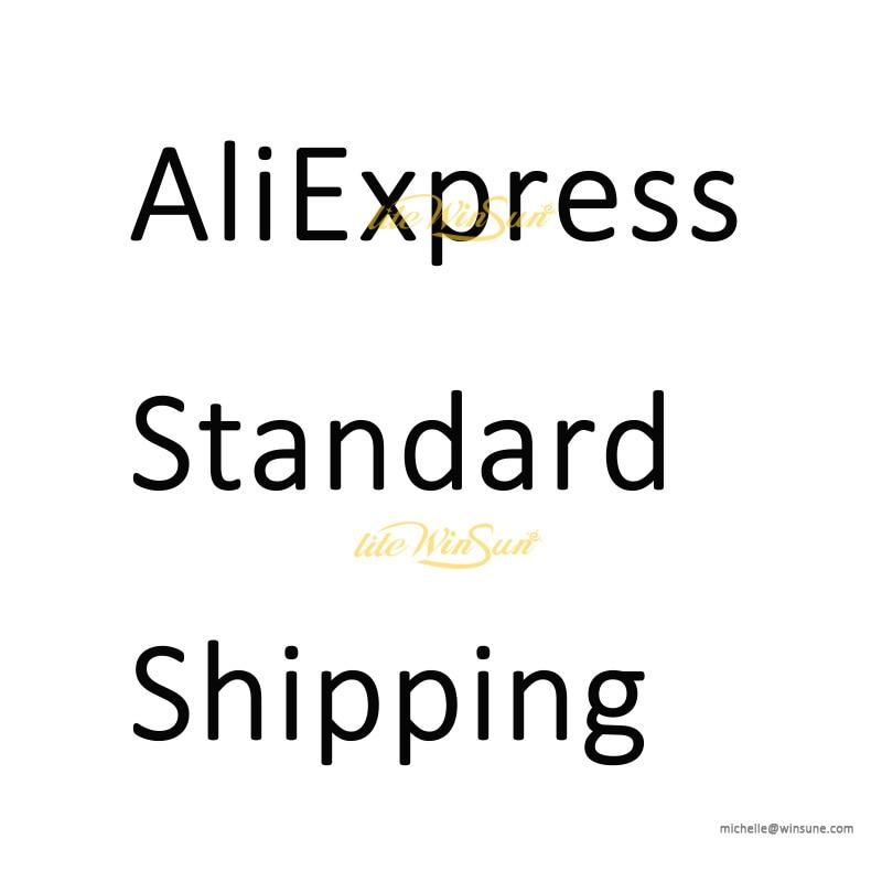 Reenviar o link do pedido pelo envio padrão aliexpress