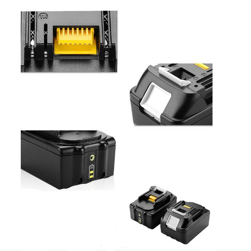 Высокое качество 6000 мАч 18 в замена Батарея для Makita 6.0Ah 18V 94205-3 BL1820 BL1830 BL1845 BL1860 LXT400 BDF452 BHP45
