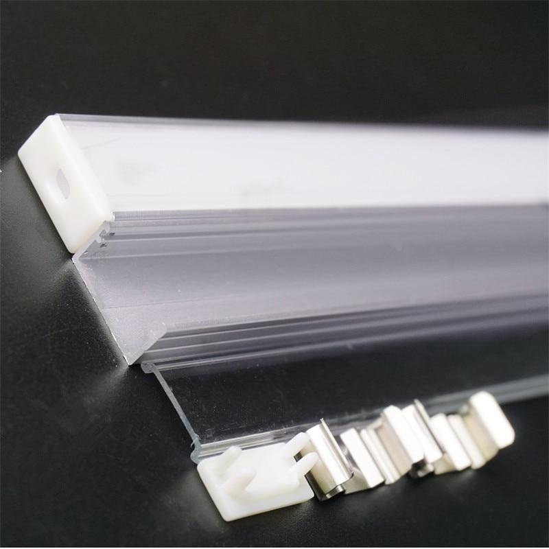 5pcs of 50cm/40cm U type 8.5mm high slim led aluminium profile ,16mm double row wide pcb led channel,diffuser bar light housing