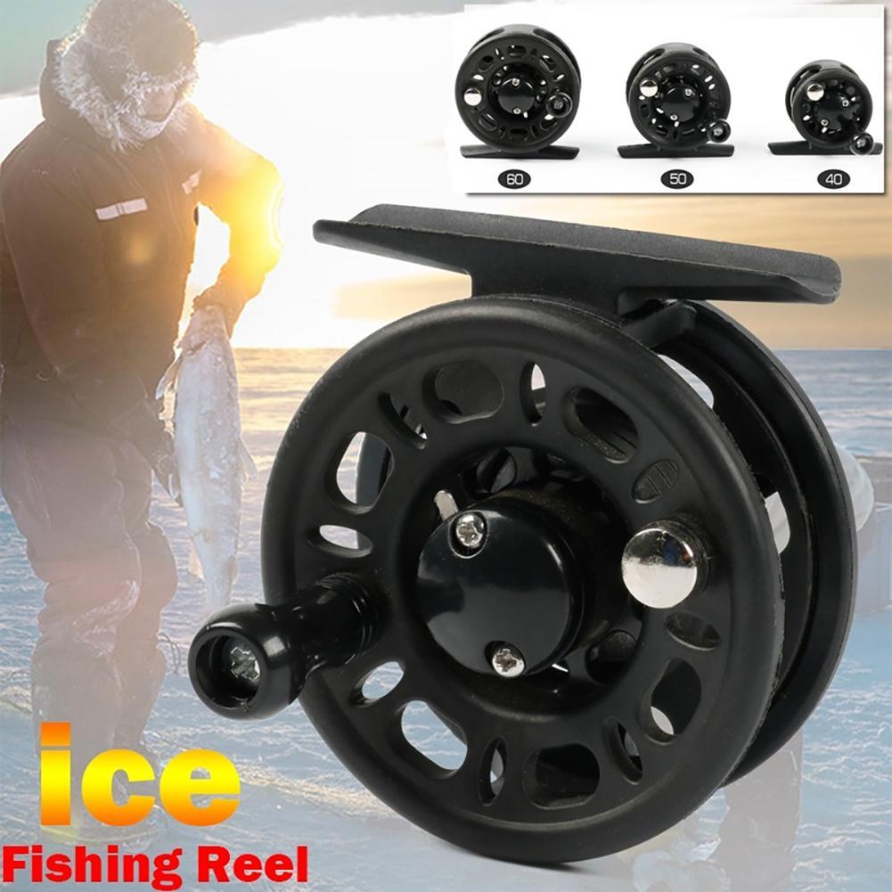 Carrete de pesca, rueda de tambor fundido de pescado para agua dulce, agua salada, primavera invierno, carnada para mano derecha, carnada fundida ST 40 50 60 rueda