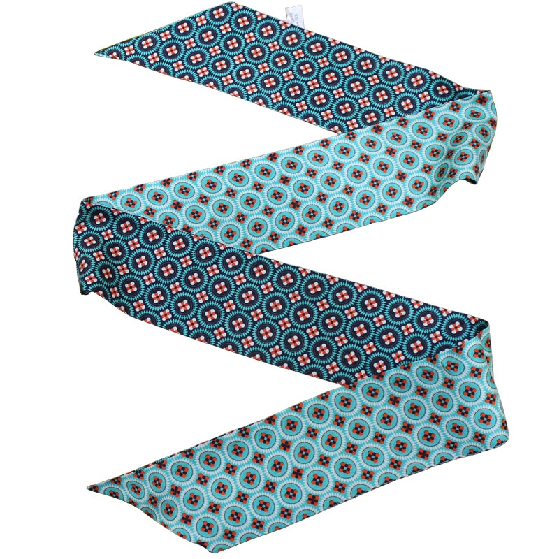Nova frescura pescoço cachecol fita multi scarve 100% seda saco envolve magro gargantilha faixa de cabelo bandeaus transporte da gota zsbd222