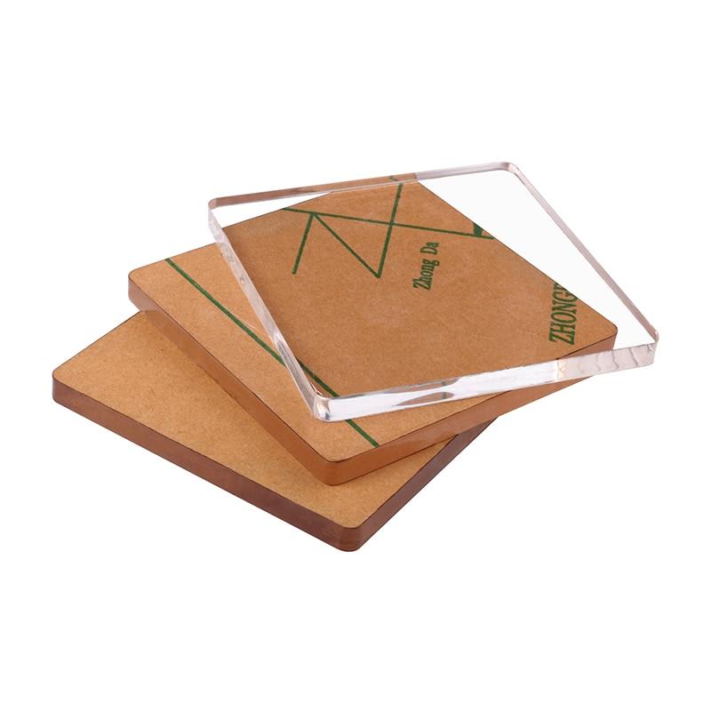 1-10mm Dicke PMMA Transparent Plexiglas Extrudiert Klar Guss Acryl Blatt