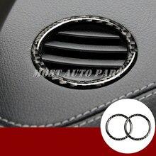 Revêtement dhabillage en Fiber de carbone   Pour tableau de bord Benz GLS X166 2016-2019