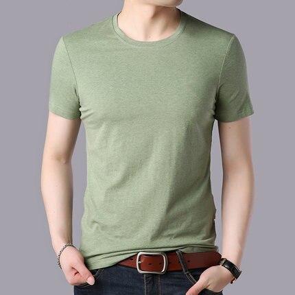 Men's cotton fashion casual short-sleeved T-shirt 3512