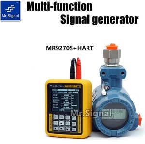 MR9270S + HART 4-20MA Signal Generator Calibrate Current Voltage PT100 Thermocouple Pressure Transmitter Recorder Frequency