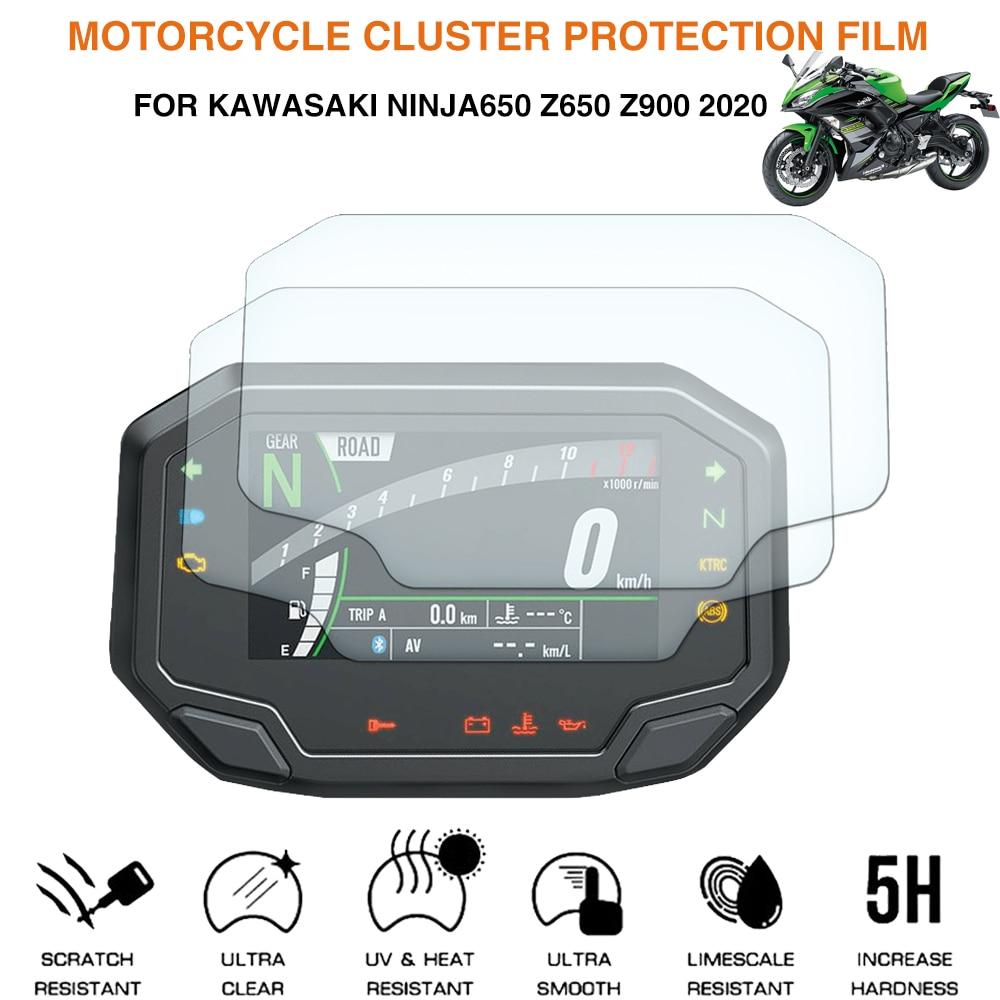 AliExpress - Motorcycle Screen Protector Instrument Speedometer Cluster Scratch Protection Film For Kawasaki Ninja650 Z650 Z900 2020