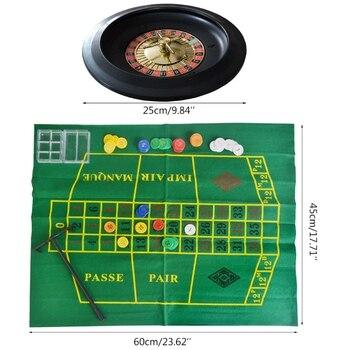 """10 дюймов Алкогольная игра """"пьяная рулетка"""", набор с Скатерти фишки для покера для бара вечерние Borad Прямая доставка"""