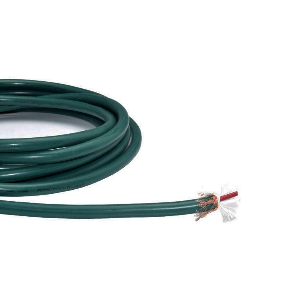 Купить с кэшбэком Furutech FA-220 OCC audio signal cable bulk audio Wire OD9.0mm (sell per 1M) diy Vinshle