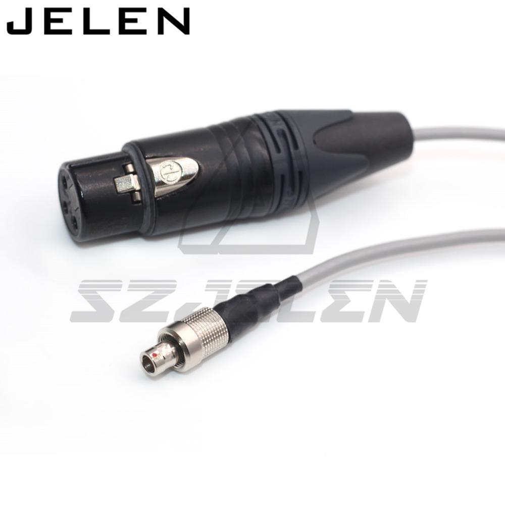 سنهيسر SK2000 الارسال إدخال الصوت ، موصل FVB 00 3 دبوس الذكور المكونات إلى XLR 3 دبوس الإناث كابل