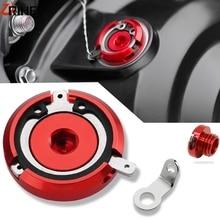 FOR DUCATI 848/1098/1198 07-11 Motorcycle Engine Oil Filter Covers Oil Plug Cap Bolt HYPERMOTARD 821 MONSTER 696 1100 1200/1200S