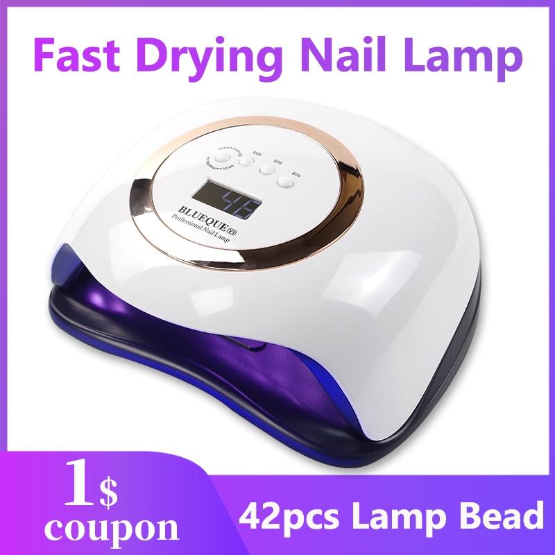Lampe à Led lampe à ongles pour lumière UV vernis à ongles sèche lampe 42 Led lampe UV pour Nail Art manucure outils lampe UV pour ongles