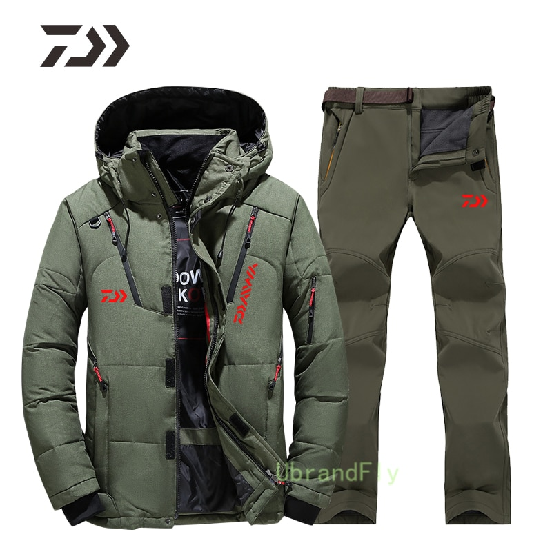 Shimanos Fishing Suit for Men Thicked Naturehike Keep Warm Windproof Fishing Coat Breathable Fishing Clothes Daiwa Outdoor Wear enlarge