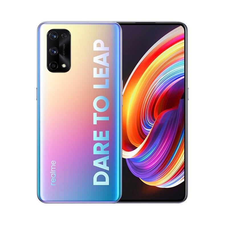 Перейти на Алиэкспресс и купить Realme X7 Pro 8 ГБ 128 5G мобильный телефон MTK1000 + 6,55 дюймFHD + безрамочный экран 120 Гц активно-матричные осид, 65 Вт Быстрая зарядка NFC 64-мегапиксельная четыре...