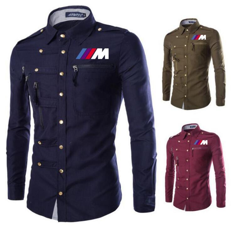 Polo para hombre, camiseta estampada para bmw M1, solapa de verano para hombre, manga larga, informal, de algodón, manga larga para hombre, ropa h3