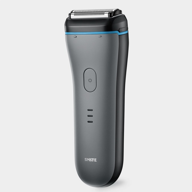 SMATE 3-blade الترددية ماكينة حلاقة كهربائية قابلة للشحن قابل للغسل الرجال أداة تهذيب اللحية