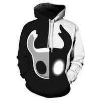 knight 3d prined hoodies menwomen fashion new popular personality anime hoodie harajuku zipper sweatshirts