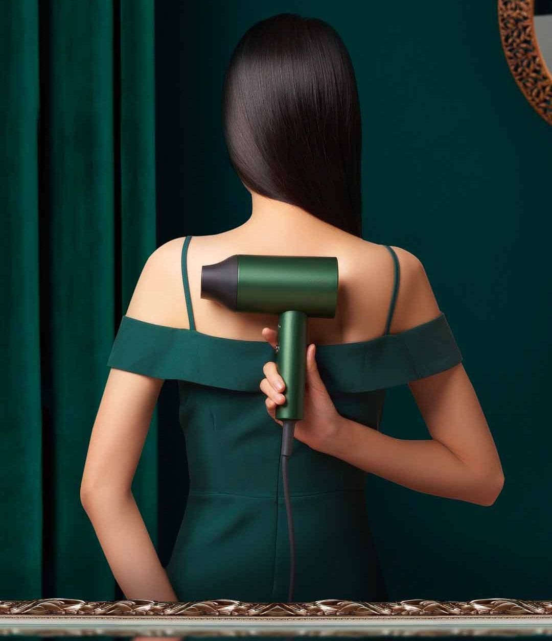 frizz secador de cabelo quente & frio