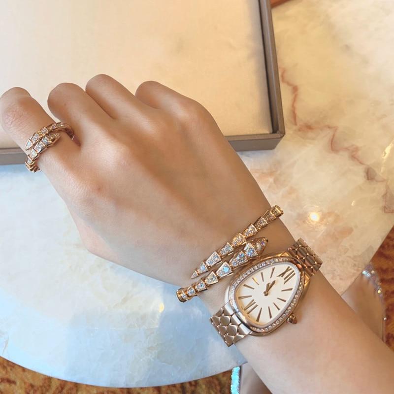 2021 Trend Ladies Watch Mechanical Watch Quartz Watch Waterproof Design Circular