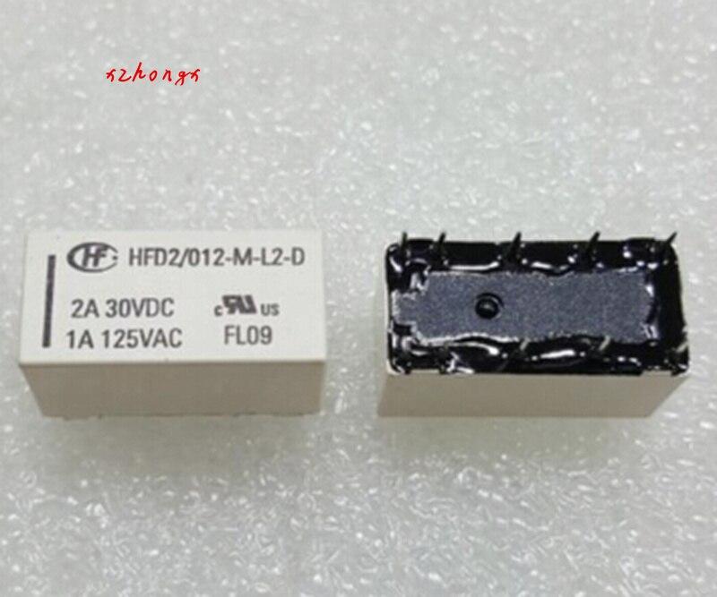 Relé HFD2-012-M-L2 1A10 pin
