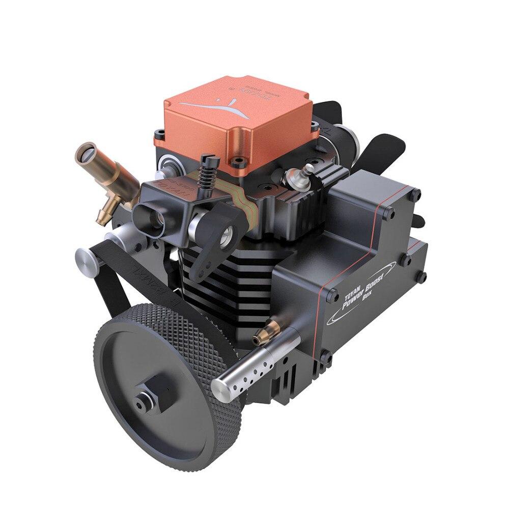 11 10usd クーポン!! 新しい toyan 4 ストロークメタノールモデルエンジン始動モータため 110 112 114 rc カーボート飛行機モデル