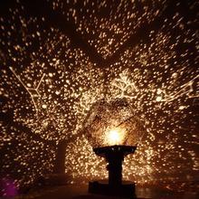 Planétarium romantique étoile projecteur veilleuse LED lampe de Projection pour la maison planétarium décoration enfants chambre cadeau bricolage lumières