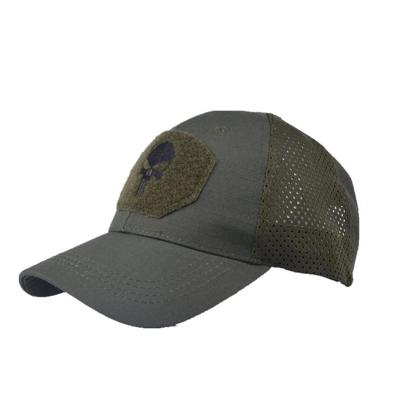 Men's Seal Team Army Tractial Baseball Cap For Women Embroidery Camo Military Outdoor Mesh Snapback Caps Hip Hop Sun Trucker Hat