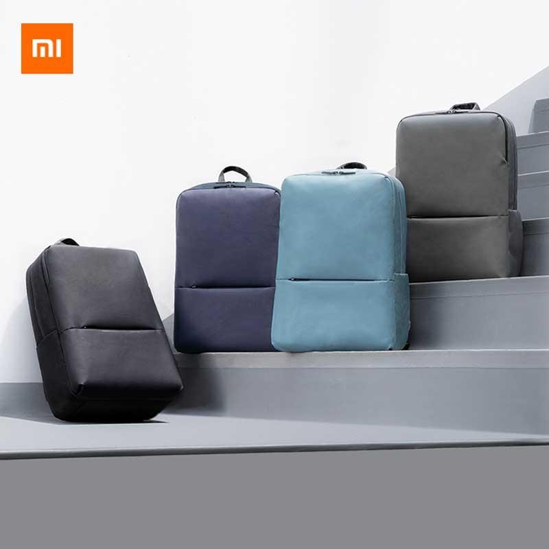 حقيبة ظهر كلاسيكية من شاومي Mijia للأعمال 2 مستوى 4 ضد الماء مبطنة بالضغط 15.6 بوصة حقيبة ظهر للأعمال الخاصة بالكمبيوتر