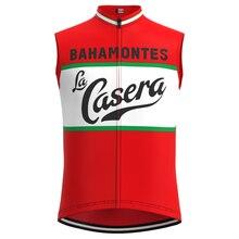1973 Concurrentie Spanje La Casera Team Man Retro Wielertrui Mouwloze Kleding Triathlon Fiets Jersey Maillot Ciclismo Hombre