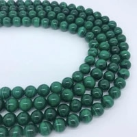 loose stone beads aaa round for diy bracelet to make jewelry natural malachite 6mm 8mm10mm12mm14mm