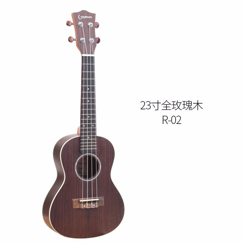 23 Inch Ukulele Full Rosewood Ukulele Soprano Beginner Ukulele Guitar Music Instruments Bass 4 String Hawaiian Small Guitarra enlarge