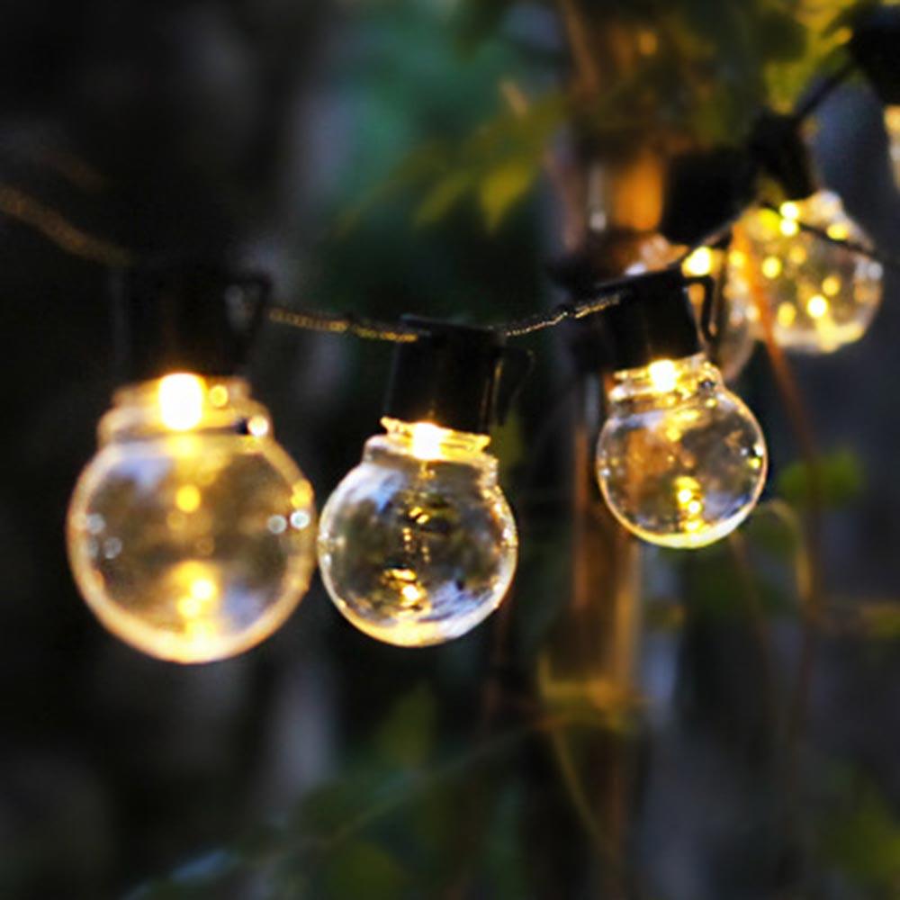 Led de fadas luz usb bateria operado solar guirlanda globo festão lâmpada natal luzes da corda ao ar livre jardim decoração festa casamento