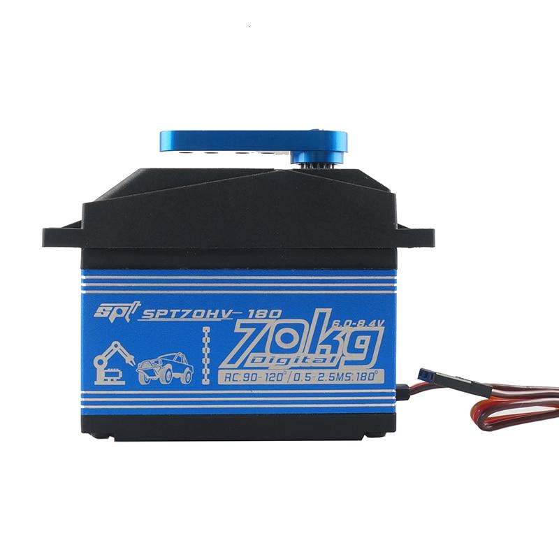 SPT70HV 70kg Control Angle180 270 360 high speed large torque digital servo for robot arm 1/5 rc car2060mg savox LOSI XL 5T BAJA