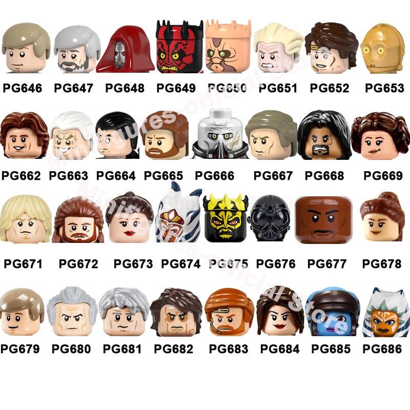 2021 Лидер продаж, миниатюрная фигурка из фильма, кирпичи, строительные блоки, головки, детские развивающие игрушки для детей PG669 PG676