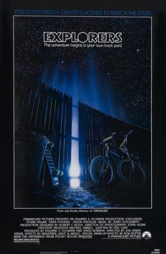 EXPLORERS Movie Art Film Print Silk Poster Home Wall Decor 24x36inch